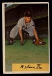 1954 Bowman #6   Nellie Fox Front Thumbnail