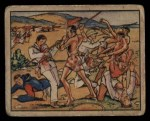 1938 Gum Inc. Horrors of War #47  Fierce Wallega Tribesmen Attack Italian Aces  Front Thumbnail