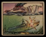1938 Gum Inc. Horrors of War #90   Depth Bomb Sinking Pirate Submarine Front Thumbnail