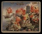 1938 Gum Inc. Horrors of War #124   Japanese Bomb Railhead at Suchow Front Thumbnail