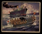 1938 Gum Inc. Horrors of War #203  Jap Launches Halt British Ship Whangpoo  Front Thumbnail