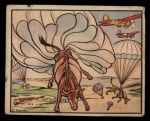 1938 Gum Inc. Horrors of War #144  Meat on-the-Hoof Dropped from the Sky  Front Thumbnail