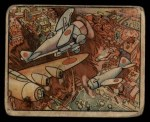 1938 Gum Inc. Horrors of War #4  War Planes Over Tientsin  Front Thumbnail