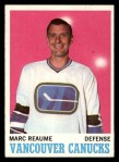 1970 Topps #119  Marc Reaume  Front Thumbnail