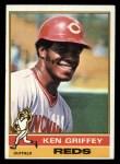 1976 Topps #128   Ken Griffey Front Thumbnail