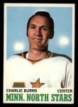 1970 Topps #44  Charlie Burns  Front Thumbnail