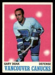 1970 Topps #114  Gary Doak  Front Thumbnail