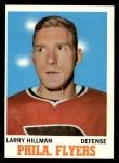 1970 Topps #81  Larry Hillman  Front Thumbnail