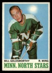 1970 Topps #46  Bill Goldsworthy  Front Thumbnail