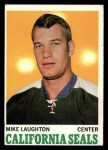 1970 Topps #74  Mike Laughton  Front Thumbnail