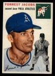 1954 Topps #129   Spook Jacobs Front Thumbnail