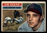 1956 Topps #48   Jim Hegan Front Thumbnail