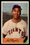 1954 Bowman #105 A  Sal Maglie Front Thumbnail