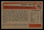 1954 Bowman #188   Frank Smith Back Thumbnail