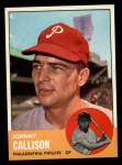 1963 Topps #434  Johnny Callison  Front Thumbnail