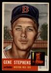 1953 Topps #248  Gene Stephens  Front Thumbnail