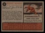 1962 Topps #28  Minnie Minoso  Back Thumbnail