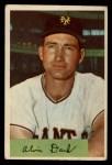 1954 Bowman #41 2B  Al Dark Front Thumbnail