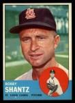 1963 Topps #533   Bobby Shantz Front Thumbnail