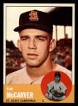 1963 Topps #394   Tim McCarver Front Thumbnail