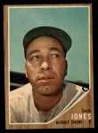1962 Topps #92  Sam Jones  Front Thumbnail