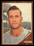 1962 Topps #282   Dave Hillman Front Thumbnail