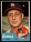 1963 Topps #249   Leo Burke Front Thumbnail
