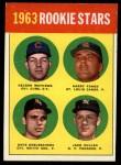 1963 Topps #54 COR  Rookies   -  Dave DeBusschere / Nelson Matthews / Harry Fanok / Jack Cullen Front Thumbnail
