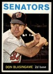 1964 Topps #327  Don Blasingame  Front Thumbnail