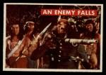 1956 Topps Davy Crockett #28 GRN An Enemy Falls   Front Thumbnail