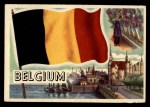 1956 Topps Flags of the World #75   Belgium Front Thumbnail