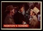1956 Topps Davy Crockett #42 GRN  Norton's Scheme  Front Thumbnail