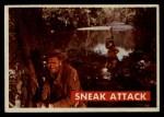 1956 Topps Davy Crockett #26 GRN Sneak Attack   Front Thumbnail