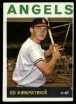 1964 Topps #296   Ed Kirkpatrick Front Thumbnail