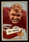 1952 Bowman Small #59   Jack Jennings Front Thumbnail