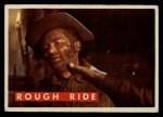 1956 Topps Davy Crockett #59 GRN  Rough Ride  Front Thumbnail
