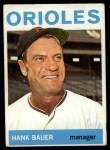 1964 Topps #178  Hank Bauer  Front Thumbnail