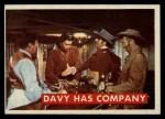 1956 Topps Davy Crockett #45 GRN Davy Has Company   Front Thumbnail