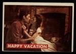 1956 Topps Davy Crockett #24 GRN  Happy Vacation  Front Thumbnail