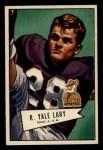 1952 Bowman Small #140  Yale Lary  Front Thumbnail