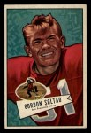 1952 Bowman Small #141   Gordon Soltau Front Thumbnail