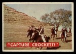 1956 Topps Davy Crockett #49 GRN  Capture Crock  Front Thumbnail