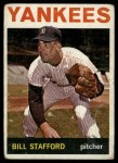 1964 Topps #299  Bill Stafford  Front Thumbnail
