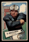 1952 Bowman Small #8  Ed Modzelewski  Front Thumbnail