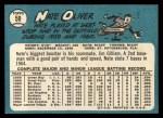 1965 Topps #59   Nate Oliver Back Thumbnail