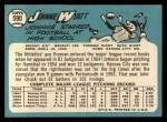 1965 Topps #590  John Wyatt  Back Thumbnail