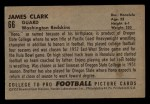 1952 Bowman Small #66  James Clark  Back Thumbnail