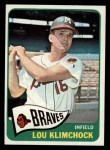 1965 Topps #542   Lou Klimchock Front Thumbnail