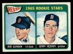 1965 Topps #509   Red Sox Rookie Stars  -  Bob Guindon / Gerry Vezendy Front Thumbnail