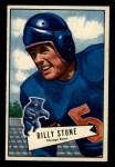 1952 Bowman Small #88   Billy Stone Front Thumbnail